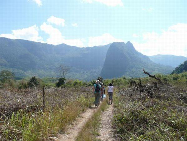 Laos-hike