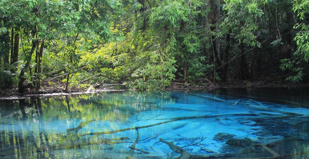 Blue Pool, Thailand