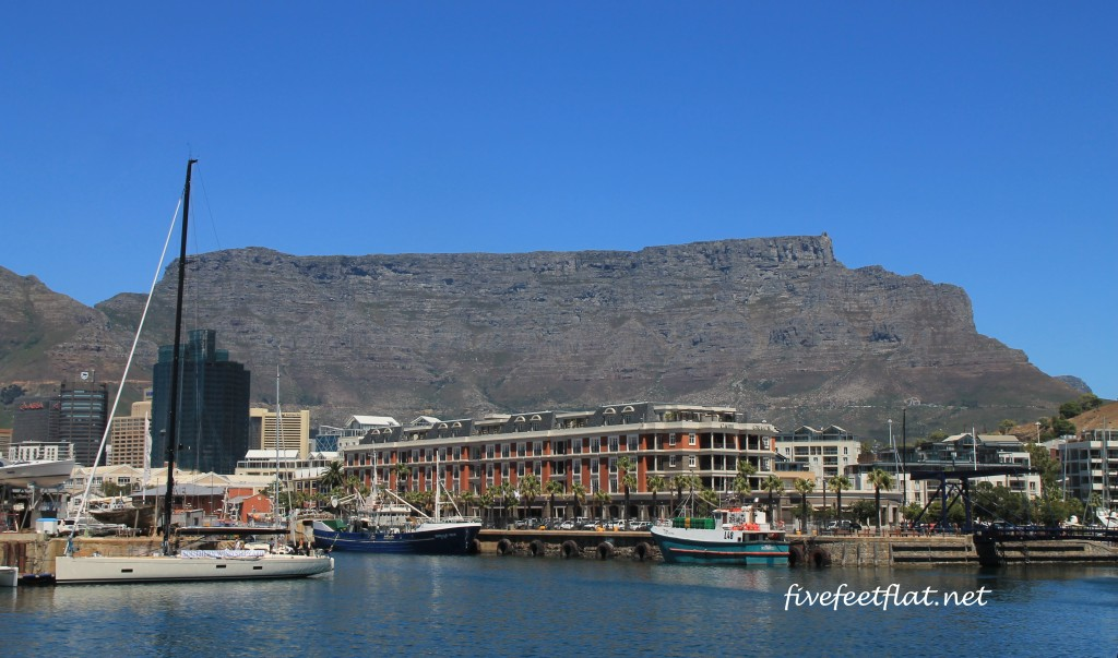 Table Mountain, seen from the Victoria & Albert Waterfront