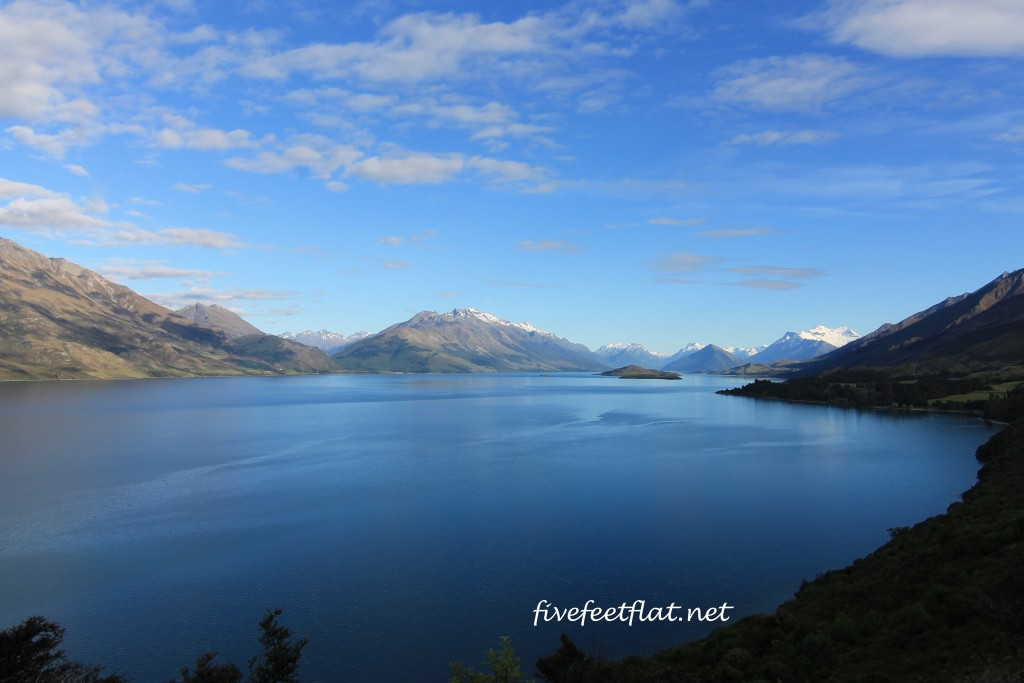 Lake Wakatipu, on the way from Queenstown to Glenorchy