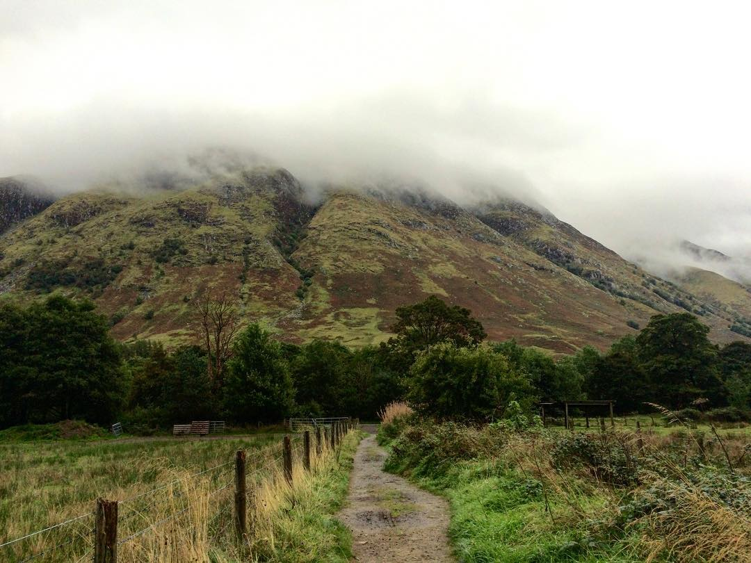 First view of Ben Nevis as you emerge from thehellip