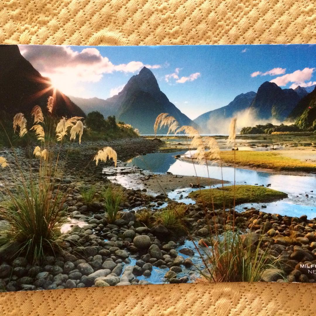 Thanks syazaliyana for this beautiful postcard from New Zealand hellip