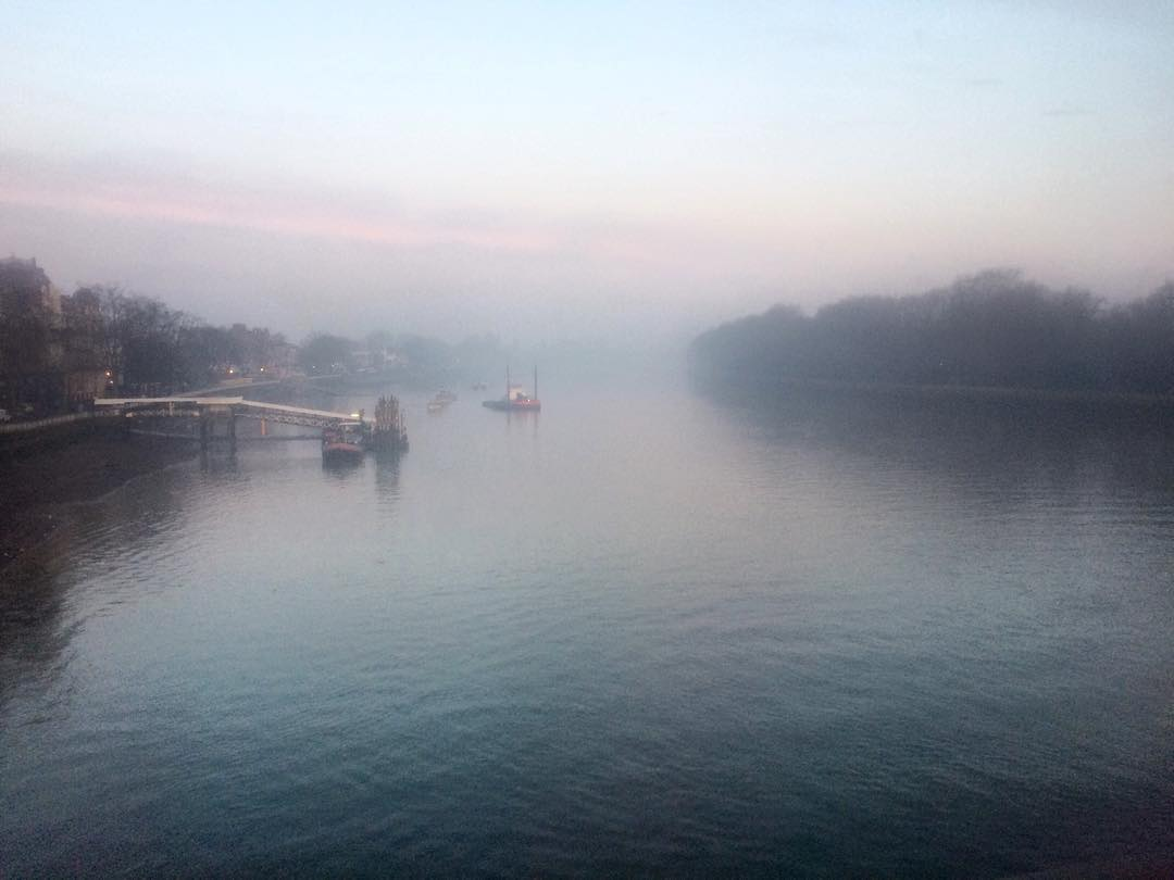 Putney today Brrrr!!!