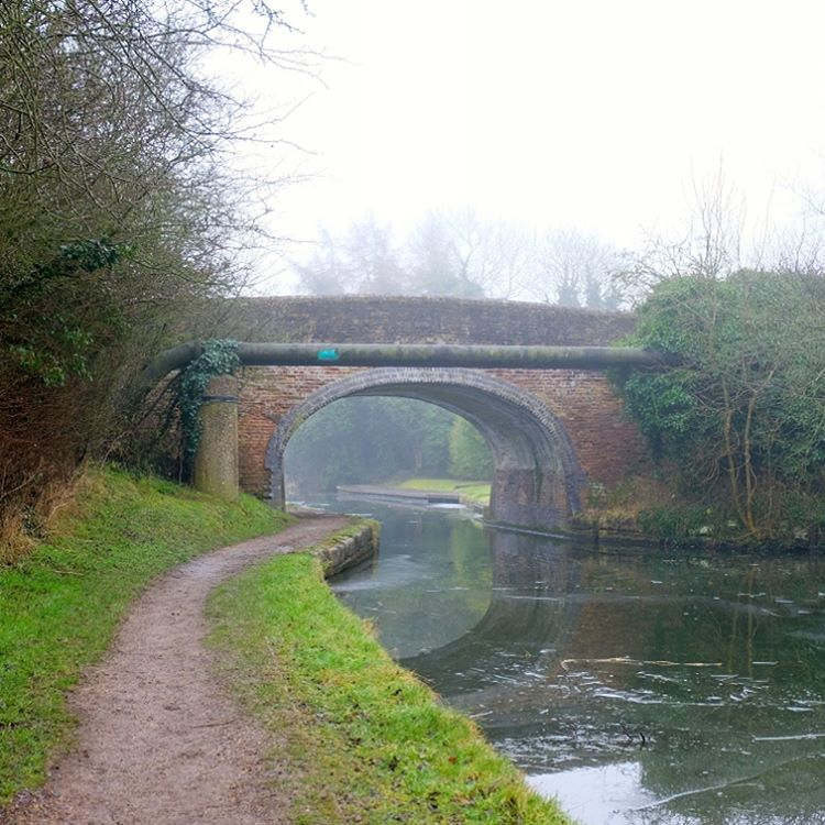 A bridge on the Grand Union Canal between Tring andhellip