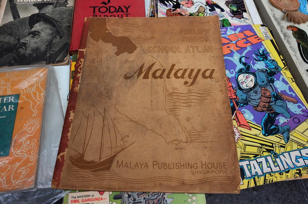 Old books on sale at Lebuh Armenian George Town Thishellip