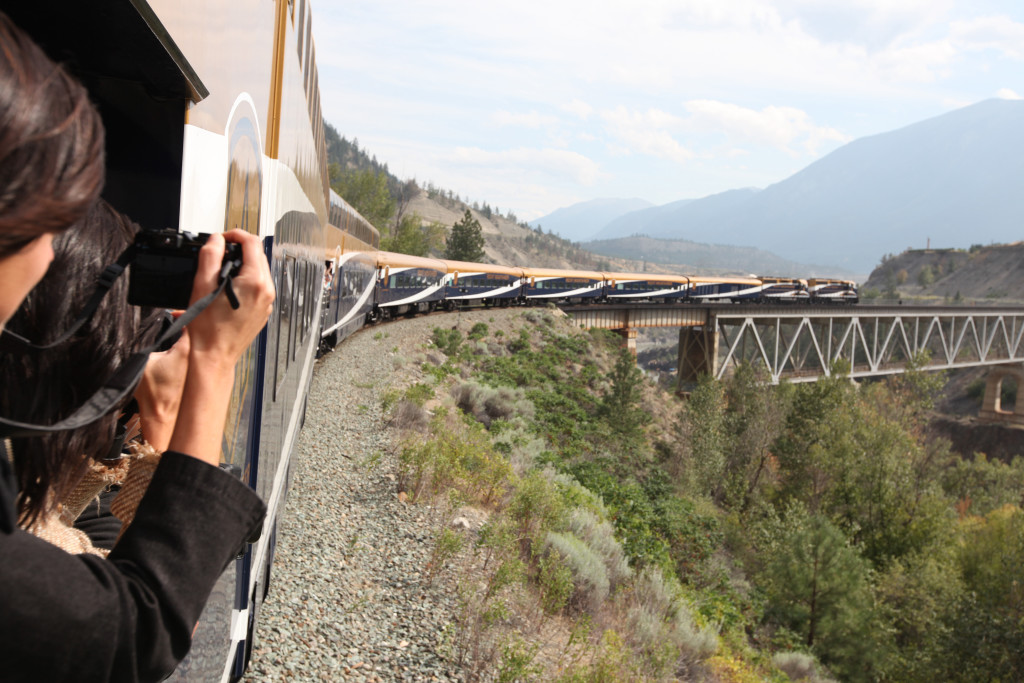 Are you up for a ride on the Rocky Mountaineer?