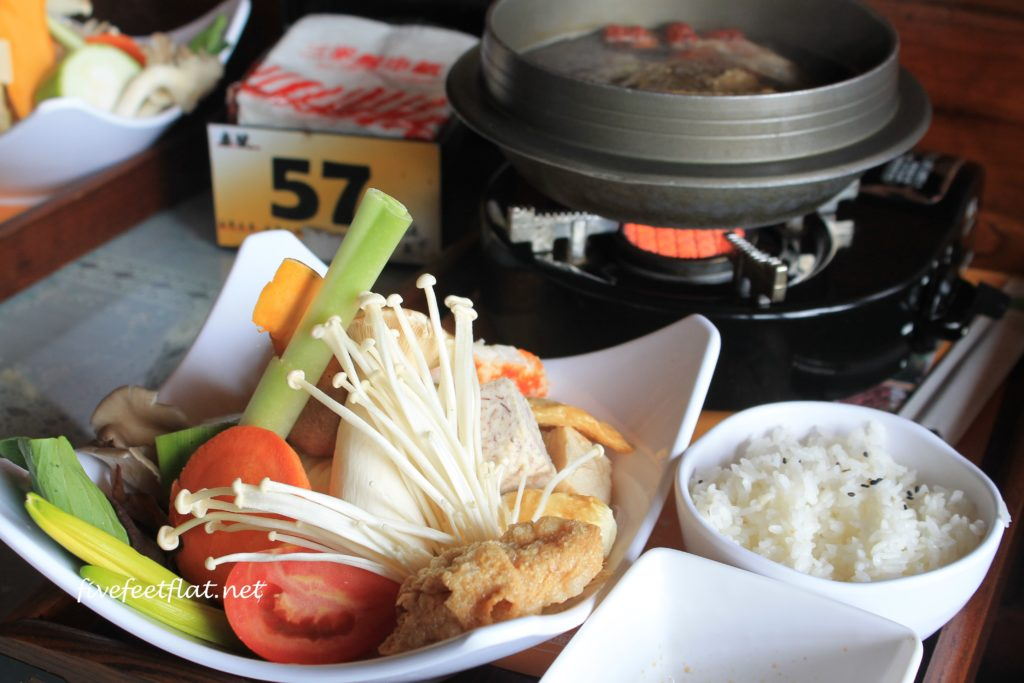 Vegetarian hotpot
